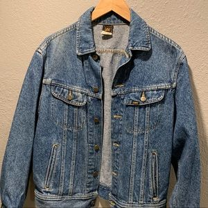 Vintage Lee Jean Jacket Men's Small